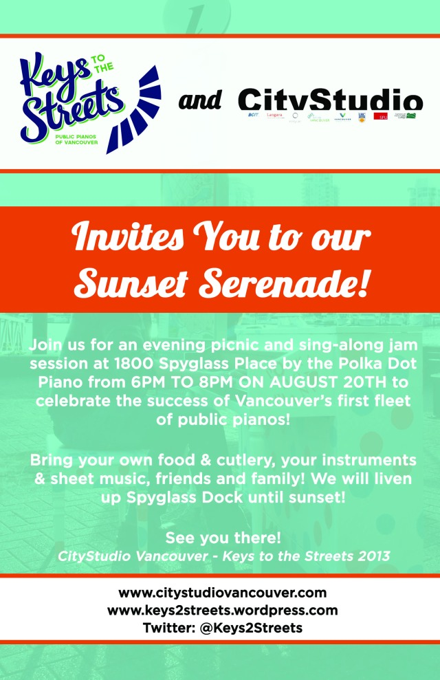 Sunset Serenade Invitation