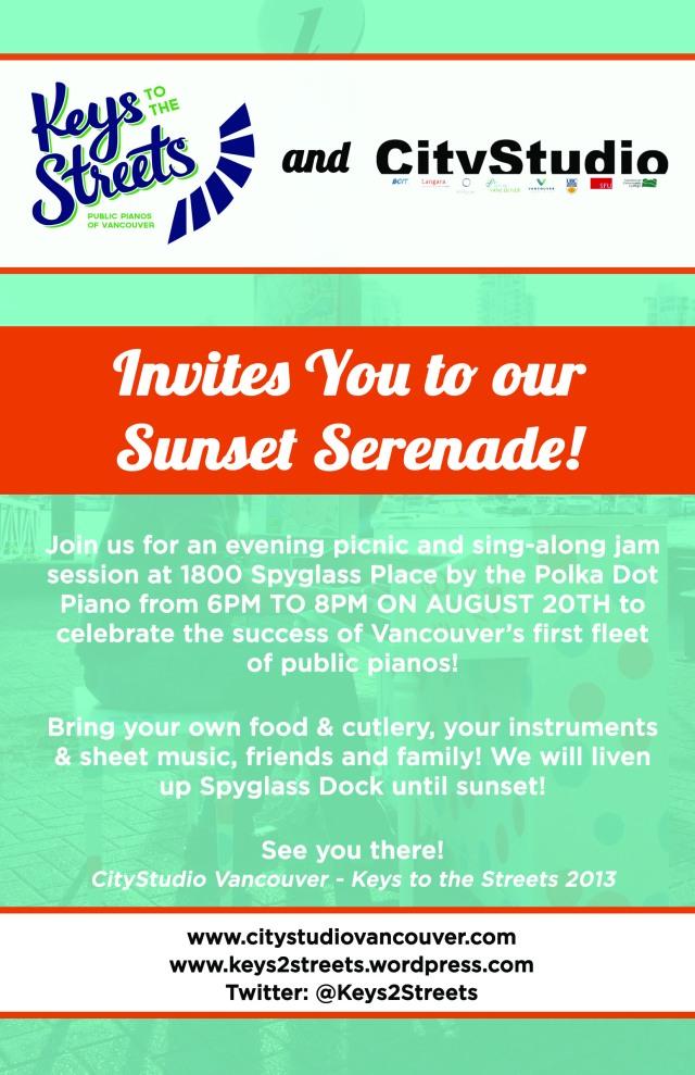 Sunset Serenade Invitation